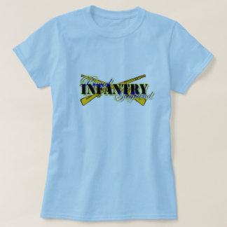 Het trotse Vriendin van de Infanterie T Shirt