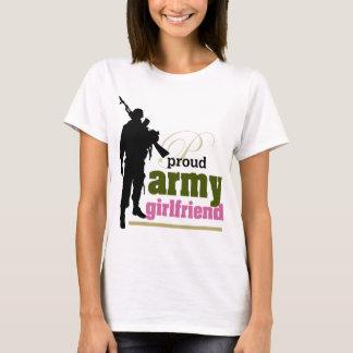 Het trotse Vriendin van het Leger T Shirt