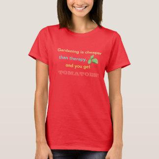 Het tuinieren is Goedkopere t-shirt