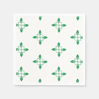 Het tuinieren patroon papieren servetten