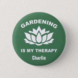Het tuinieren van de douanenaam & kleur knopen ronde button 5,7 cm