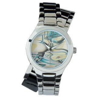 Het turkooise Stuk van de Tijd van de Golf Horloge