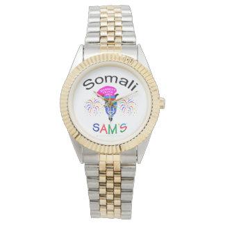 Het twee-Gestemde Horloge van Somalische SAM