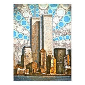 Het tweeling Briefkaart van Torens 1995
