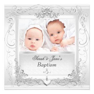 Het tweeling Wit van het Doopsel van het Doopsel v