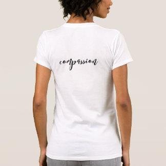 (Het Tweezijdige) T-shirt van het Medeleven van de