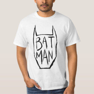 Het Type van Batman in Hoofd T Shirt