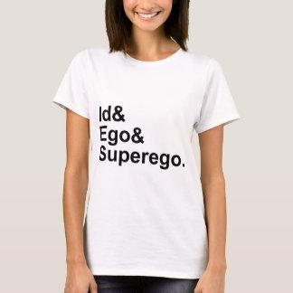 Het Über-Ich van het Ego van identiteitskaart | T Shirt