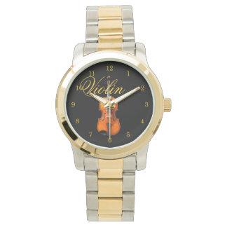 Het uiteindelijke Horloge van de Viool door Leslie