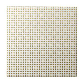 Het uiterst kleine Patroon van de Vierkanten van Keramisch Tegeltje