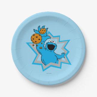 Het Uiterste van het Monster van het koekje Papieren Bordje