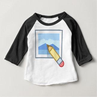 Het Uitgeven van de foto Baby T Shirts
