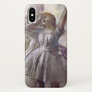 Het Uitrekken van de danser zich door Edgar Degas, iPhone X Hoesje