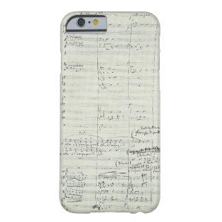 Het Uittreksel van het Manuscript van de Muziek Barely There iPhone 6 Hoesje