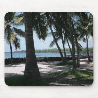 Het Uitzicht Mousepad van de palm Muismat