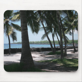 Het Uitzicht Mousepad van de palm Muismatten