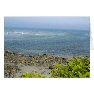 Het uitzicht van de Atlantische Oceaan, Ogunquit, Briefkaarten 0