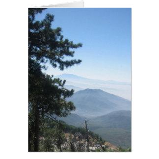 Het Uitzicht van de berg Kaart