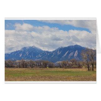 Het Uitzicht van de Prairiehond van Colorado van Kaart