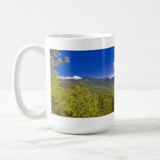 Het Uitzicht van de Sleep van de Vorst van Vermont Koffiemok