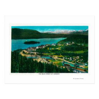 Het Uitzicht van de stad van Cordova, Briefkaart