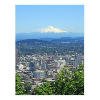 Het Uitzicht van de Stad van Portland, Oregon en Briefkaart