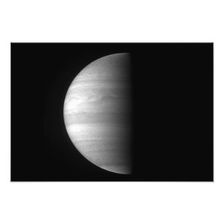 Het uitzicht van het close-up van de planeet fotoprints