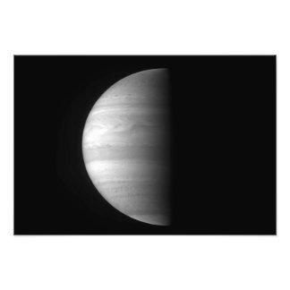 Het uitzicht van het close-up van de planeet Jupit Foto Kunst