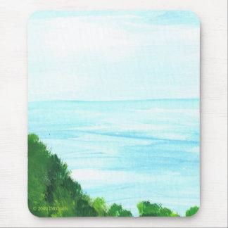 Het uitzicht van het eiland muismat
