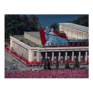 Het uitzicht van Pyongyang, van de Grote Mensen Briefkaart