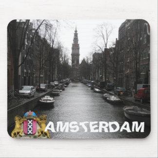 Het Uitzicht Zuiderkerk Mousepad van de Stad van A Muismat