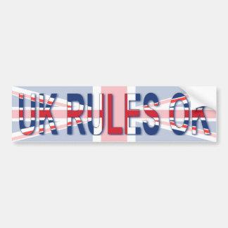 het UK beslist o.k. Bumpersticker