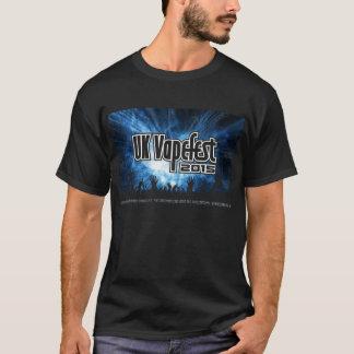 het UK Vapefest 2015 Zwart T T Shirt