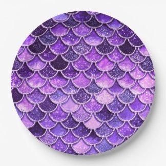 Het ultraviolet schittert de Schalen van de Papieren Bordje