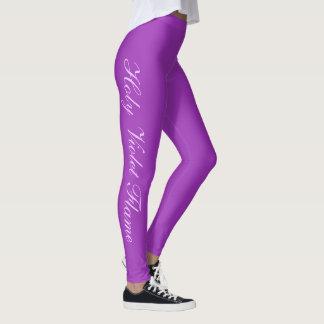 Het Ultraviolet van de mode Leggings
