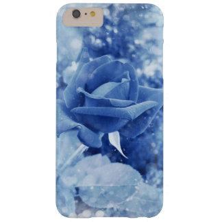 Het unieke blauw nam in sneeuw toe barely there iPhone 6 plus hoesje