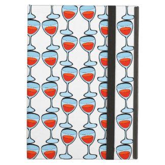 Het UNIEKE glas van het Patroon van wijn iPad iPad Air Hoesje