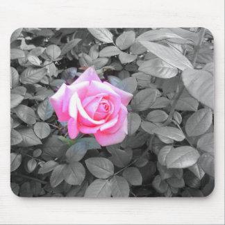 Het unieke, Mooie Roze nam, Douane toe Muismatten