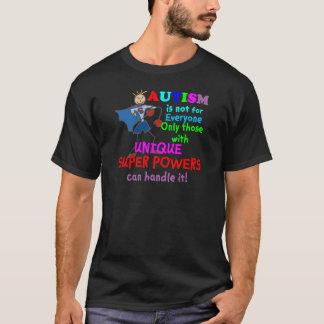 Het unieke Super Autisme van Bevoegdheden T Shirt