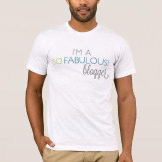 Het UNISEX- T-shirt van SoFabulous Blogger