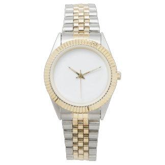 Het unisex- Tweekleurige Horloge van de Armband