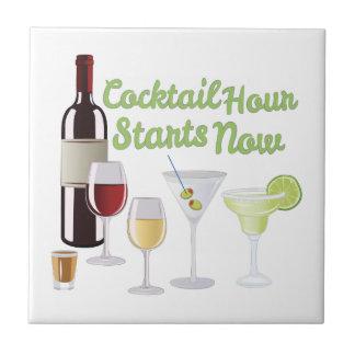 Het Uur van de cocktail Tegeltje