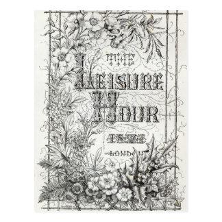 Het uur van de Vrije tijd, Londen, 1891 Briefkaart