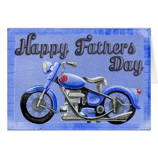 Het Vaderdag van de motorfiets Briefkaarten 0
