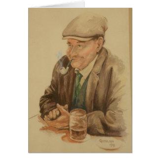 Het Vaderdag van een Ier Wenskaart