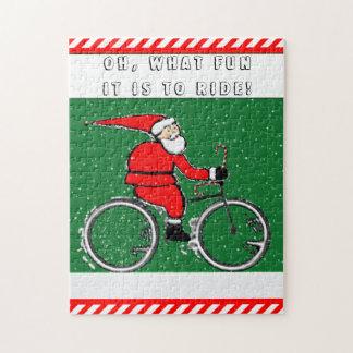 Het Vakantie van Biking Puzzel
