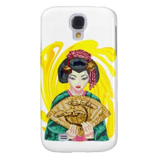 Het vallen in Liefde met het Meisje van de Geisha Galaxy S4 Hoesje