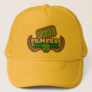 Het valse Logo van Fest van de Film Mesh Pet