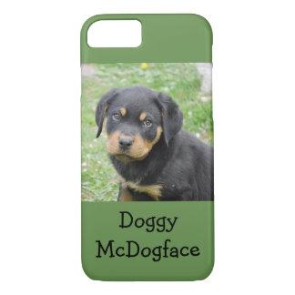 Het van een hond Puppy van McDogface Rottweiler iPhone 8/7 Hoesje