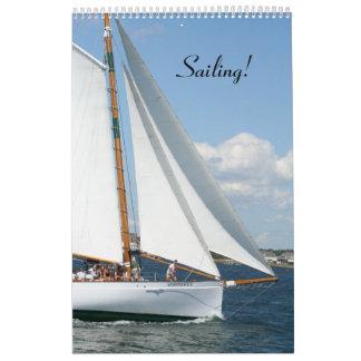 Het varen!  12 maandKalender Kalender